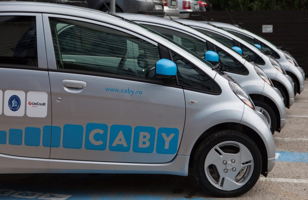 Vehicule electrice CABY