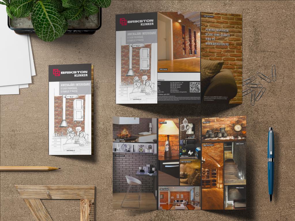 Boomerang crează pentru Brikston un nou stil vizual, un concept de comunicare și design pentru materiale de comunicare și vânzări.